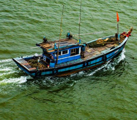 Pescar em alto mar