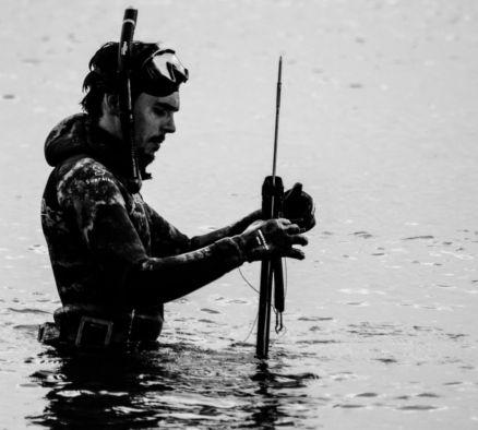 Pescar de arpão