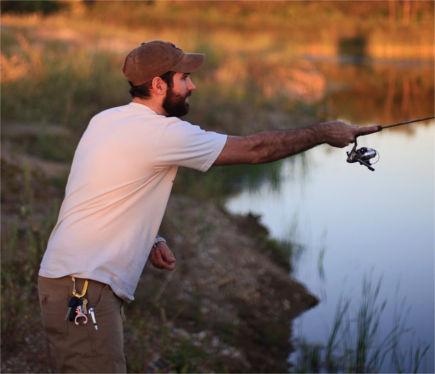 Pescar no rio