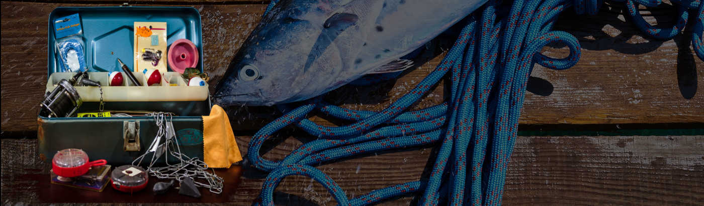 equipamentos de pesca
